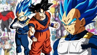 Vegeta Surpassing Super Saiyan Blue In Dragon Ball Super Tournament Of Power