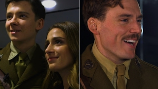 Sam Claflin and Asa Butterfield take us on set of A Journey's End streaming
