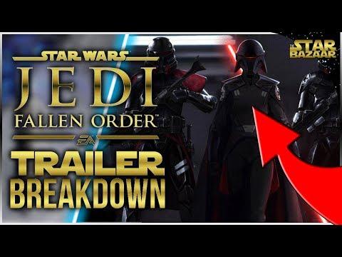 FALLEN ORDER Reveal Trailer Breakdown | Star Wars Jedi: Fallen Order thumbnail