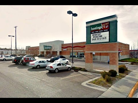 Auction of Former Hastings Store in Great Falls, MT