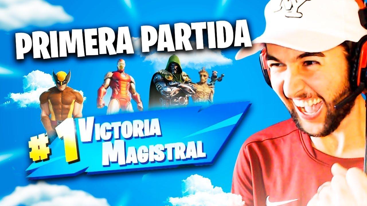 Download MI PRIMERA PARTIDA Y VICTORIA EN LA TEMPORADA 4 DE FORTNITE X MARVEL 🇦🇷🔥