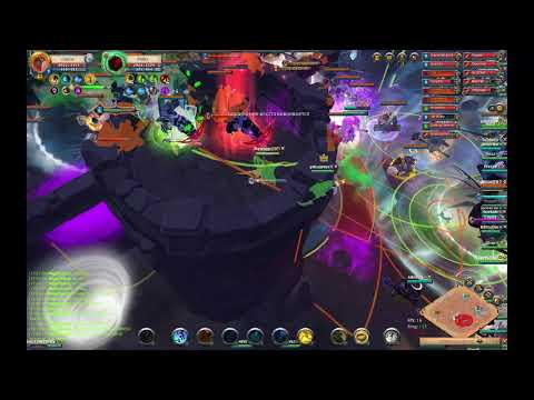 Albion Online ZvZ Castle RAQ Vs Final Order