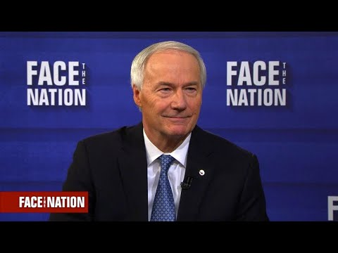 Gov. Hutchinson of Arkansas says states are responsible for school safety