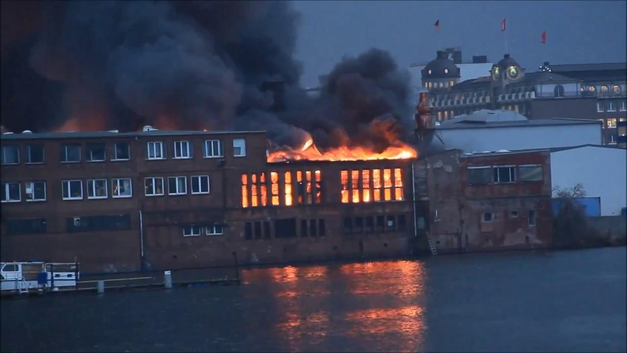 Großbrand Hamburg