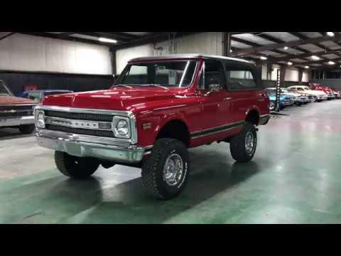 1970 Chevrolet K5 Blazer 4x4 #180843 FOR SALE