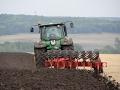 Best plowing John Deere 8430 tractor with plow Gregoire Besson SPB9 /// Пахота John Deere 8430