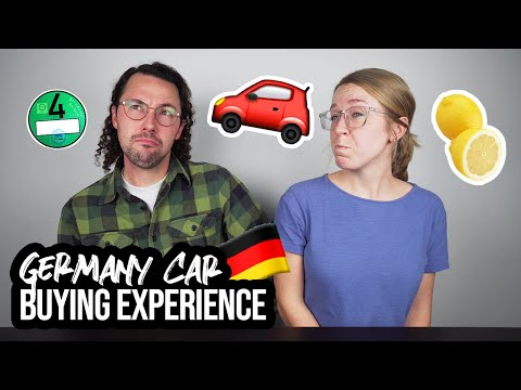 WHAT BUYING A CAR IN GERMANY IS LIKE // Germany