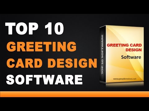 Best Greeting Card Design Software - Top 10 List
