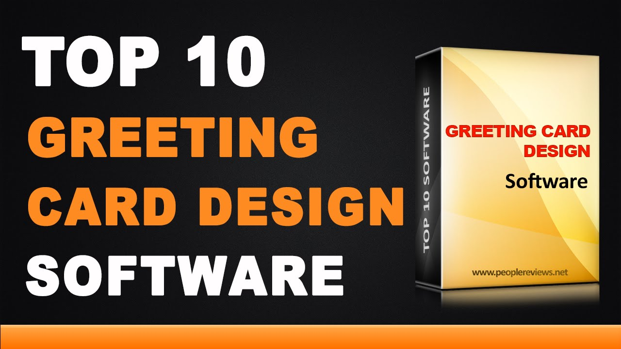 Best Greeting Card Design Software Top 10 List Youtube