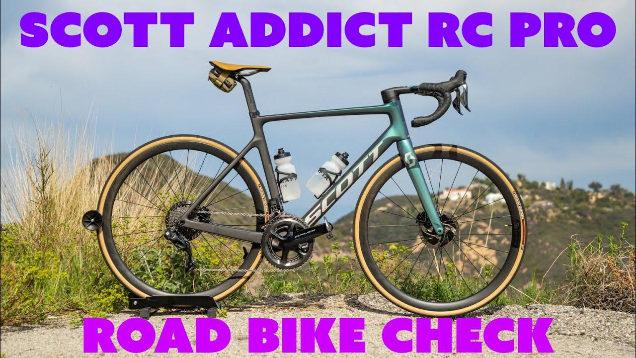Safa's Road Bike Check: SCOTT Addict RC Pro