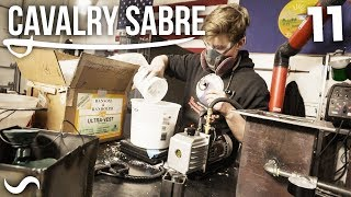 MAKING A CAVALRY SABRE! Part 11
