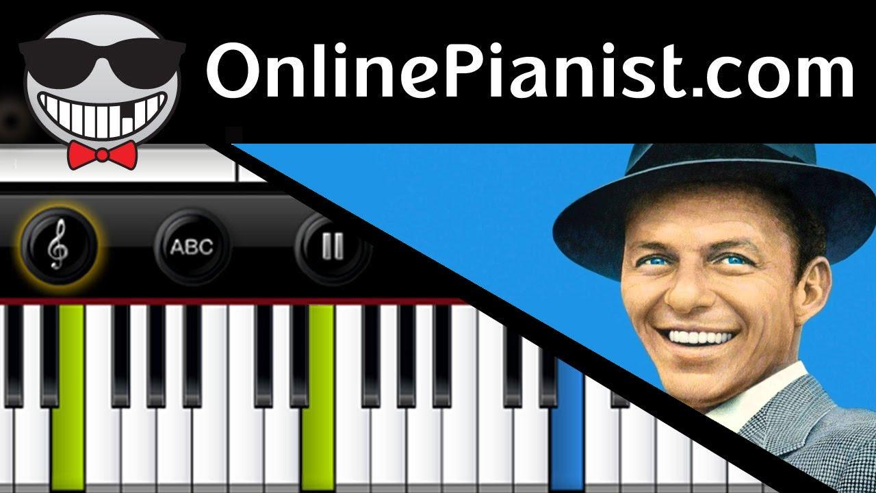 Frank Sinatra   My Funny Valentine (Rodgers U0026 Hart)   Piano Tutorial U0026  Sheet (Intermediate Version)