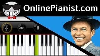 Frank Sinatra - My Funny Valentine (Rodgers & Hart) - Piano Tutorial & Sheet (Intermediate Version)