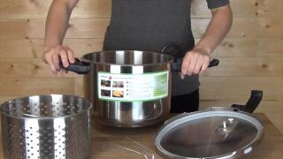 Fagor Duo 8 Quart Pressure Cooker Product Overview