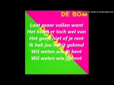 Doe Maar De Bom Lyrics
