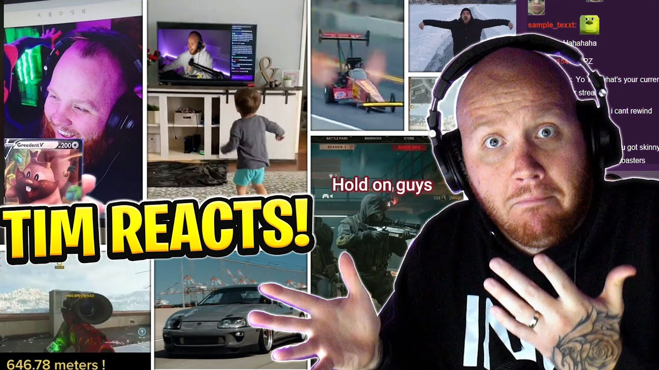 TIMTHETATMAN REACTS TO WARZONE CLIPS, CARS, TIKTOKS & MORE!
