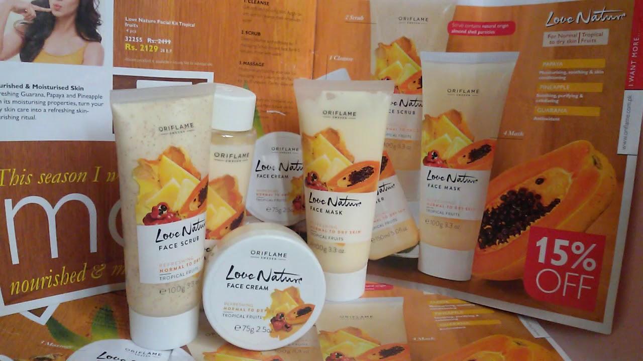 e6fff6e275 Review of Love Nature Tropical Fruit Facial Kit by Shafiya Rafiq ...