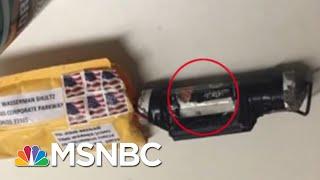 Pipe Bomb Sent To CNN, John Brennan Included ISIS Flag Parody | Velshi & Ruhle | MSNBC