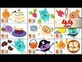 Мультик для детей, для младенцев - The Bumble Nums - Season 2 E1-E9 - 13-21 серии - Cartoon For Kids