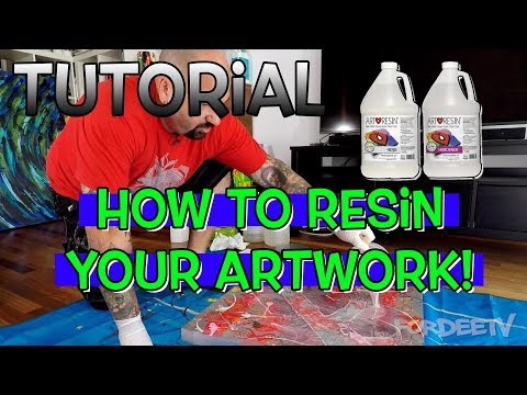 Tutorial – How to Resin Your Artwork! | FordeeTV