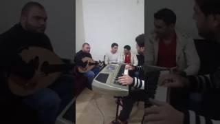عتابا واغاني سورية في لبنان من الفنان بشار جنيد وعازف العود مهند علوش