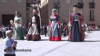 Desfile Cívico del Corpus de Tudela 2011 clip 3/11