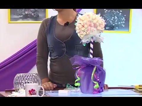 Como hacer un Topiario para una fiesta Infantil - Hogar Tv  por Juan Gonzalo Angel