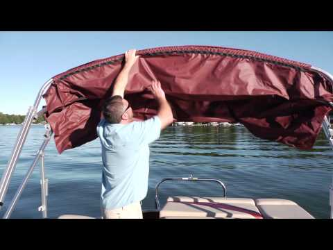 Godfrey Pontoons: How To Put Up A Bimini Top