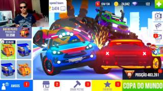 Jogando SUP Corrida Multiplayer corrida