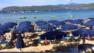 Le Calanchiole beautiful beach Elba island