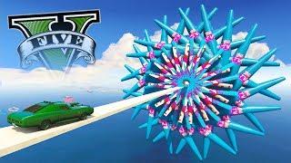 GTA V Online: SKILL TEST com CARRO do VELOZES E FURIOSOS!!! (DEI RAGE)