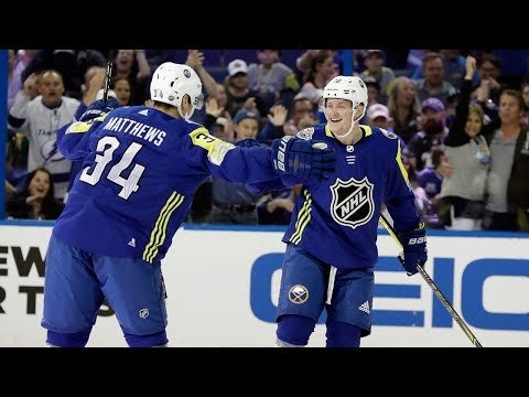 Best plays from the 2018 NHL All-Star Game