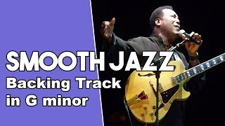 Smooth Jazz Funk Backing Track in Gm