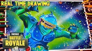 Cómo dibujar Fortnite Battle Royale Moisty Merman - ? ? ? ? New Skin Season 4 / Dibujos de fortnite