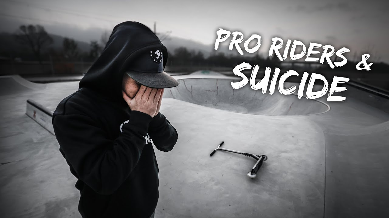 SUICIDE AMONG PRO RIDERS...