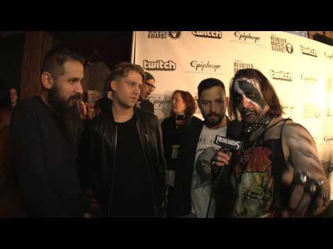 THE DILLINGER ESCAPE PLAN Interview, Revolver Music Awards 2016 Black Carpet | MetalSucks