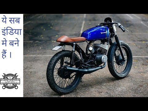 Top 10 modified cafe racers in india
