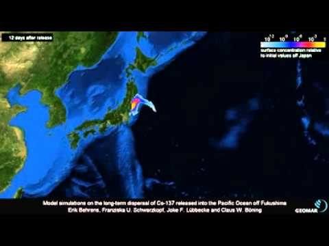 Analysis Of The Distribution Of Fukushima Radiation In The Pacific Ocean