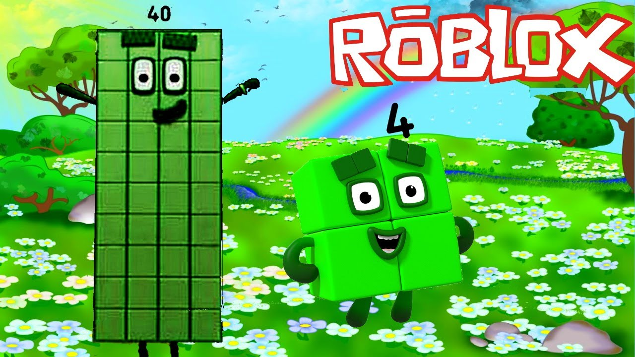 Numberblocks - Green Level Four | Roblox