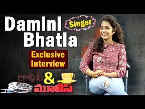 Exclusive Interview With Singer Damini Bhatla | 'Pacha Bottesi' #Baahubali Fame | Coffees & Movies