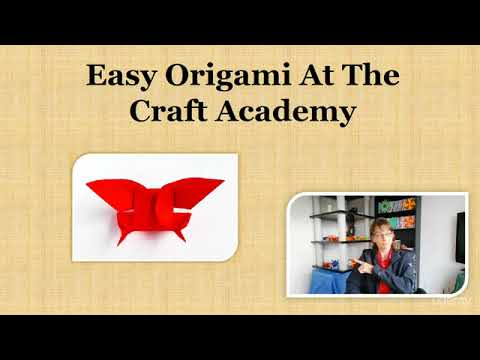 Easy Origami At The Craft Academy