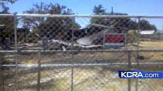 From The Field: Homes Burn In Modesto