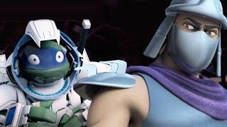 Teenage Mutant Ninja Turtles Legends - TMNT 2012 SPACE LEO VS OLD SHREDDER
