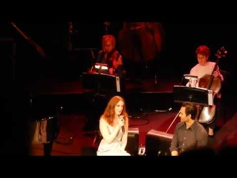 Ramin Karimloo and Anna O'Byrne sing Once Upon Another Time !! cam