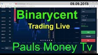 Binarycent Trading Live Mit Dreier Strategie 2018/2019