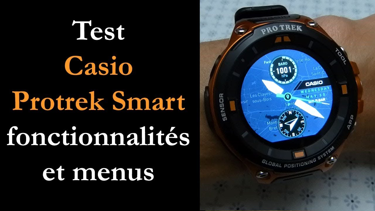 Vidéo Test : Casio WSD F20 par Montre cardio GPS  j0ixz