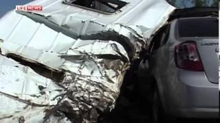 Авария  автобуса из Сочи. погибло 10 человек