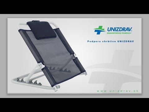 Podpora chrbtice UNIZDRAV - VIDEOMANUÁL