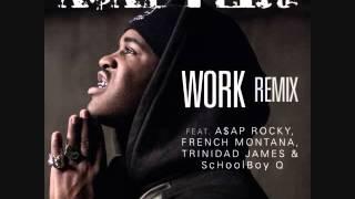 A$AP Ferg - Work (Remix) (Instrumental/Remake) [Prod. By M.L.J. Tha Beatmaker]