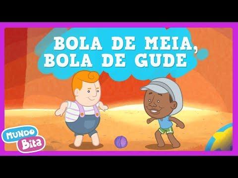 Mundo Bita - Bola de Meia, Bola de Gude ft. Milton Nascimento [clipe infantil]